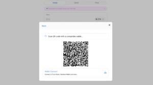 نحوه اتصال Uniswap از طریق WalletConnect