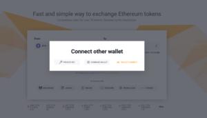 نحوه اتصال KyberSwap از طریق WalletConnect