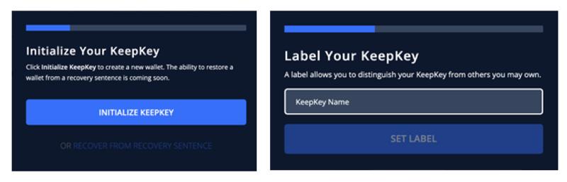 راه انداز keepkey