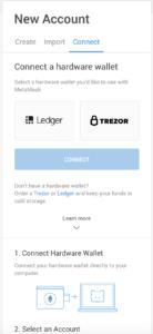 چگونه کیف پول سخت افزاری Trezor یا Ledger را به متامسک متصل کنیم؟